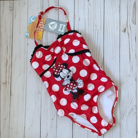 9e5d452cfc Disney Swim | Minnie Mouse Kids Bathing Suit Nwt | Poshmark